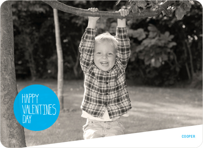 Picture is Worth a Thousand Words Valentine's Day Card - Curious Blue