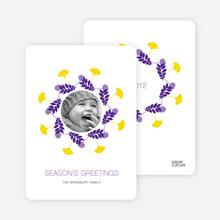 Wreath Seasons Greetings - Violet