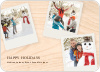 Polaroid Collection Holiday Photo Cards - Pale Apricot