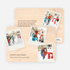 Instant Holiday Cards: Photo Collection - Pale Apricot