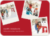 Polaroid Collection Holiday Photo Cards - Scarlet