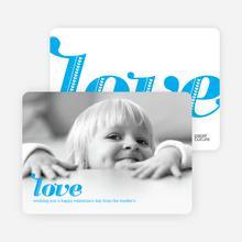 Simply Love Photo Cards - Royal Blue