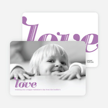 Simply Love Photo Cards - Lilac