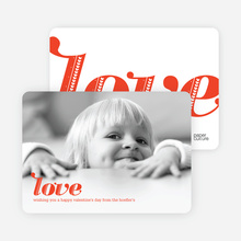 Simply Love Photo Cards - Love Red