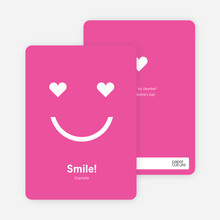 Saying Love with a Smile - Hot Pink