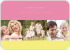 Three Photo Easter Cards - Pink Lemonade