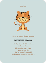 Year of the Tiger Shower Invites - Seafoam