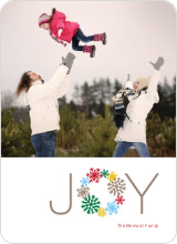 Wreath of Joy Christmas Card - Multi