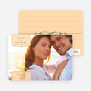 Chic and Modern Save the Date Cards - Pale Apricot