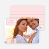 Chic and Modern Save the Date Cards - Pale Blush