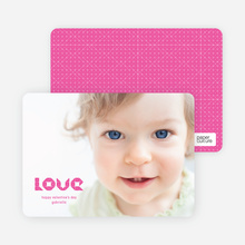 Simply Photos LOVE: Valentines Day Card - Fuchsia