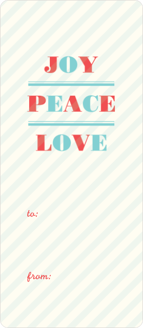 Joy, Peace and Love - Multi