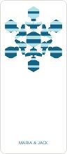 Modern Snowflake - Blue