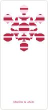 Modern Snowflake - Red