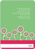 Modern Flower Baby Shower Invitation - Back View