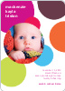 Circles Baby Announcements - Multi