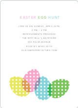 Easter Egg Hunt Invitations - Multi