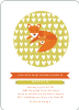 Foxy Mama–to–Be Baby Shower Invitations - Avocado