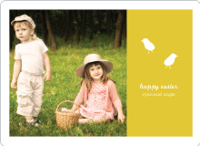 Modern Easter Photo Card - Squash