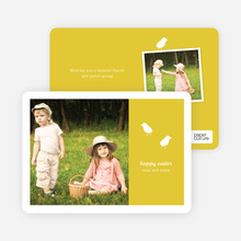 Modern Easter Photo Card: Chirp Chirp - Squash