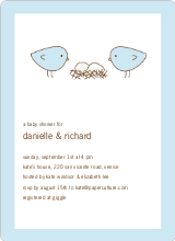 Nesting Birds - Light Blue
