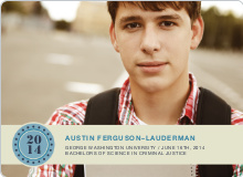 Photo Graduation Announcements - Cornflower Blue