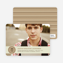 Photo Graduation Announcements - Caramel