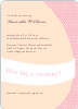 The Bump Baby Shower Invitations - Pink Blush