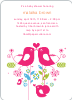 True Love Baby Shower Invitation - Front View
