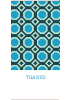 Bold, Patterned Party Invitations - Blue