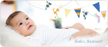 Birth Flags Baby Announcements - null