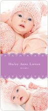 Elegant Birth Announcements - null