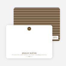 Modern Stationery: Simply Put - Espresso