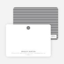 Modern Stationery: Simply Put - Charcoal