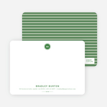 Modern Stationery: Simply Put - Forest Green