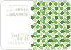 Moroccan Stained Glass Invitation - Happy Green