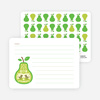 Pear Birds: Personal Stationery - Main View
