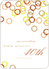 Rings Galore Party Invitations - Brown