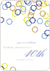 Rings Galore Party Invitations -