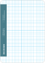 Stationery Grid - Blade Blue
