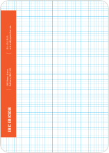Stationery Grid - Office Orange