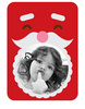 Santa Photo Frame Sticker - Printed View