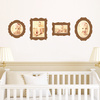 Antique Photo Frame Decals - Wall Decal View