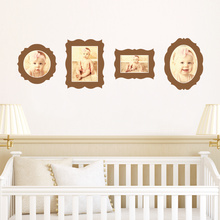 Antique Photo Frame Decals - Brown