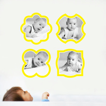 Modern Picture Frames - Yellow