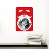 Santa Photo Frame Sticker - Wall Decal View