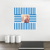 Fashion Frames Photo Wall Decals - Blue