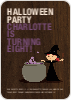 Halloween Photo Party Invitation - Front View