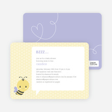 Bumble Bee Mom–to–Bee - Purple