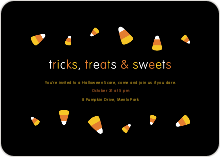 Tricks, Treats and Sweets - Orange